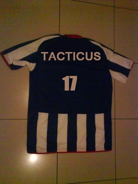 Tacitus football shirt